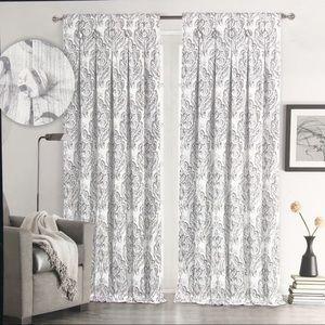 Tahari Window Panels Drapes Curtains medallion
